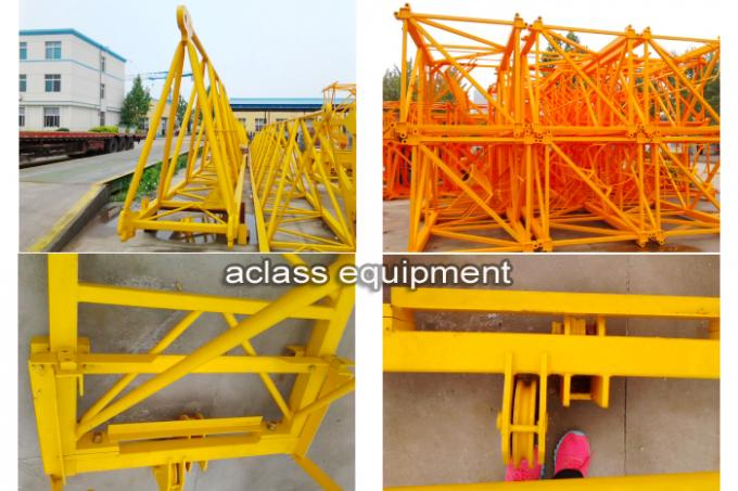 High Performance 10 ton Topless Tower Crane with 2*2*3 Split Mast Section