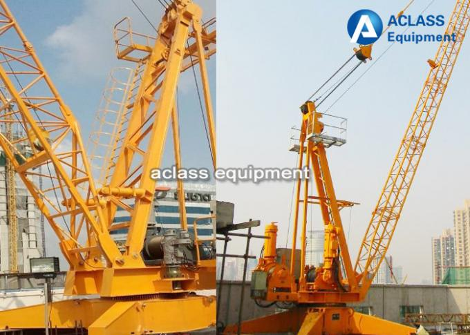 6 Tons Derrick Crane 2420 Disassembly Inner Climbing Tower Crane , ISO