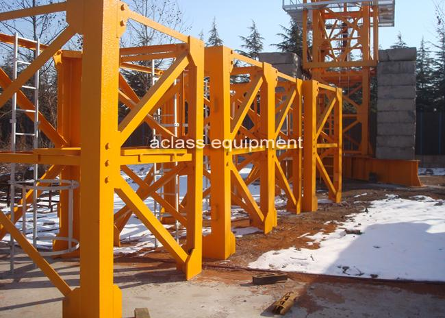 Split Structure Luffing Jib Tower Crane Machinery for Construction Equipment