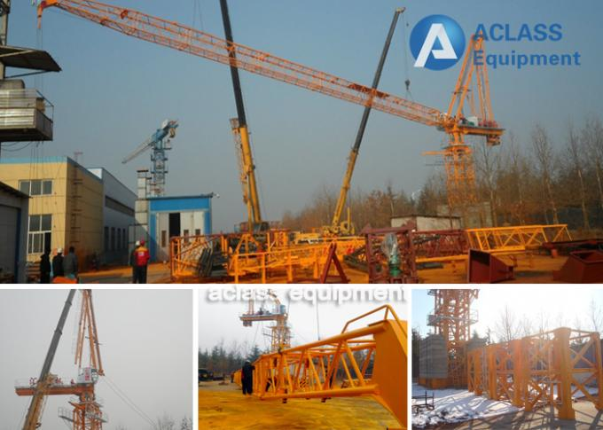 Buildings Mobile Lifting Equipment Luffing Jib Tower Crane Mchine 10 t
