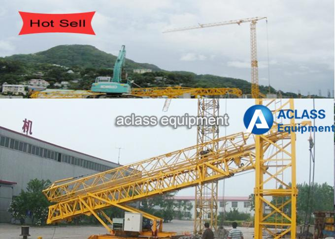Economic Self Erecting Tower Crane , Hydraulic Mobile Crane Assembly