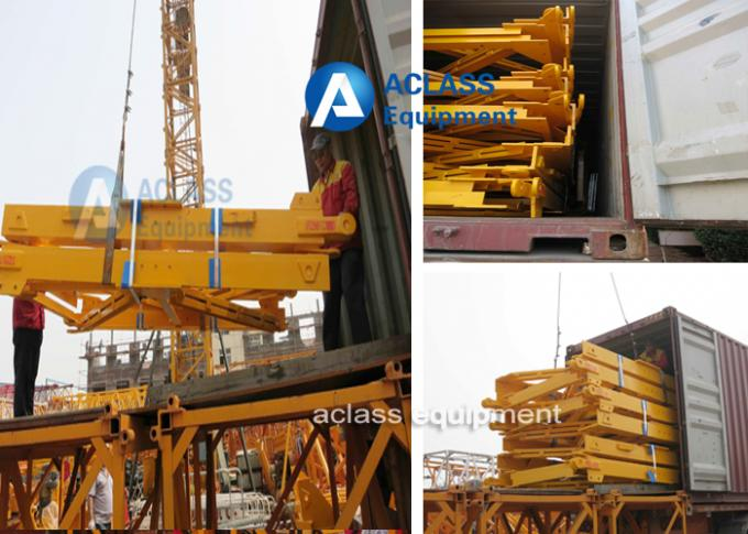 Split Tower Crane Structure 2000*2000*3000 mm With 200*20mm Angle Steel