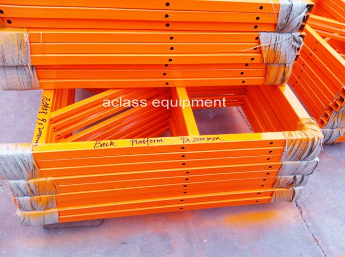 Steel Wire Suspended Working Platform With Steel Hot Galvanized Alloy 8-10 m/min