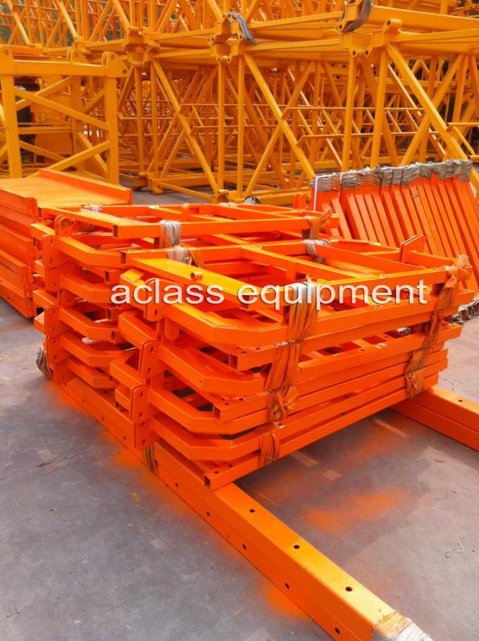 Aerial Work Platform Wire Rope High Rise Lift Table Swing Stage , ISO