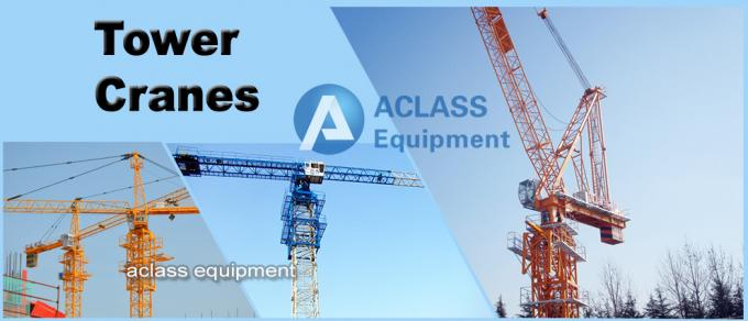Fast Erecting Internal Climbing Building Tower Crane For Lifting Heavy Equipment