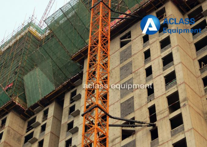 16 Ton Top Kit Tower Crane 70m Boom Length 50m Freestanding Height