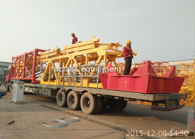 75m Jib Model Tower Crane 3.2t Tip Load And 18t Max Load Construction Crane