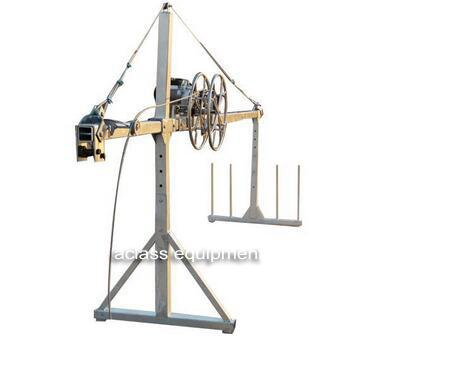 Wire Rope Winder ZLP Suspended Platform Tensioners Device Of Wire
