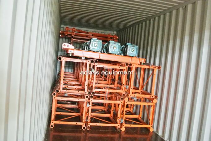 3000kg Rack Pinion Elevator Building Industrial Lifter With Dual Cages